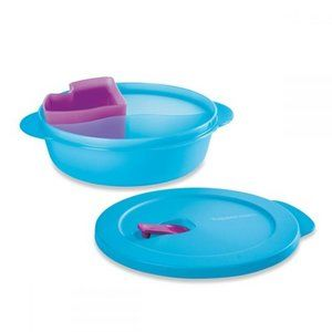 Tupperware CrystalWave PLUS Lunch'n Dish NEW!